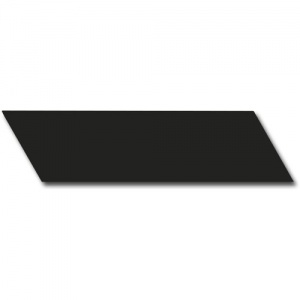 EQUIPE CHEVRON WALL BLACK MATT RIGHT 18,6X5,2